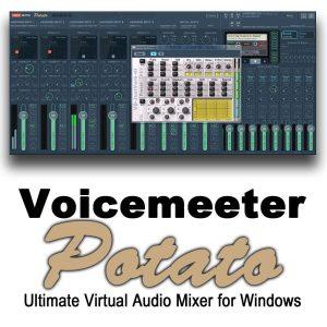 VoiceMeeter Potato 3.0.1.4 Crack+ License Key Free Download 2021