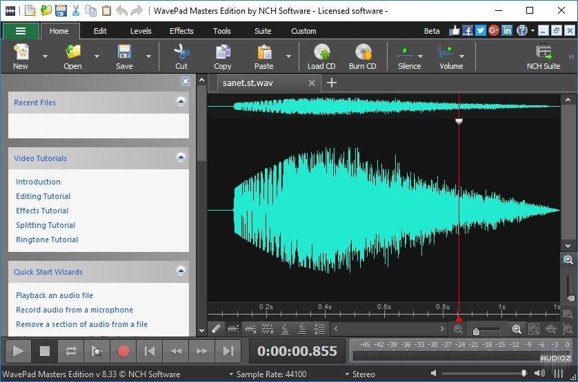 Wavepad Sound Editor 13.01 Crack with Registration Key Download 2022